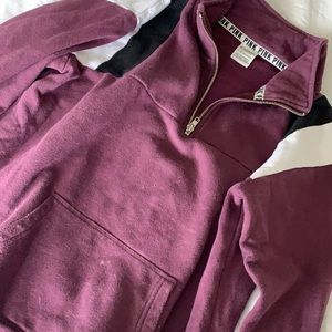 VS PINK | Quarter Zip Sweatshirt